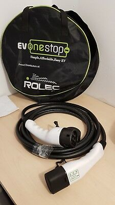 New EV ONESTOP Electric Car - Charging Cable 5m with Carry Bag