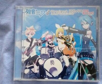Hatsune Miku Memories Project DIVA - 2nd NONSTOP MIX COLLECTION MICA CD Vocaloid