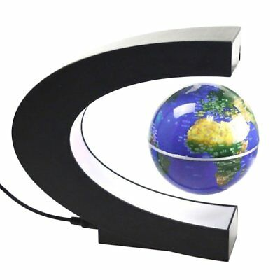Levitation Anti Gravity Globe Magnetic Floating Globe World Map w/ LED Light ZJZ