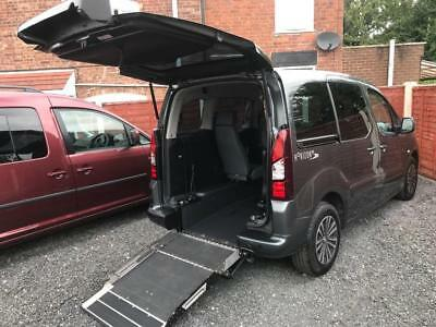 2015 Peugeot Partner Tepee 1.6 HDi 92 S 5dr WHEELCHAIR ACCESSIBLE VEHICLE 5 d...