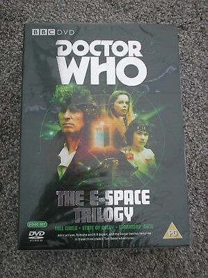 Doctor Who DVD Box Set The E-Space Trilogy With Tom Baker as The Doctor