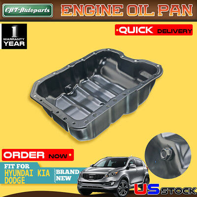 for 07-17 Jeep Compass Lower Oil Pan 2.4L 4 Cylinder