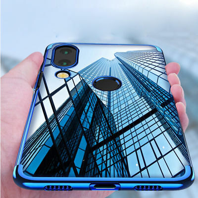 For Huawei Nova 3i/3 Luxury Shockproof Plating Silm Clear Soft TPU Case Cover