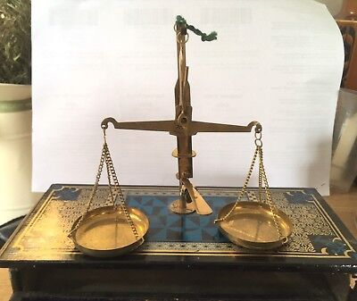 Vintage Minature Weighing Scales