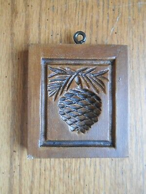 House on the Hill Springerle Cookie Mold #6031 PINE CONE