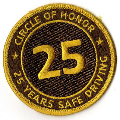 United Parcel Service (UPS) 25 yr. Safe Driving Patch