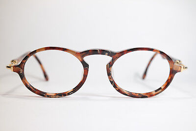 Vintage B&L Bausch Lomb Ray Ban Gatsby DLX Style 1 48[]18 130 Havana Gold oval