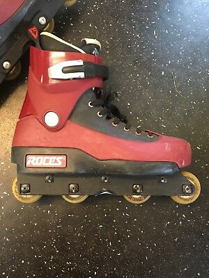 Roces Fifth 5th Element RARE inline skates UK size 10