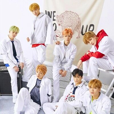 NCT Dream-[We Go Up] 2nd Mini Album CD,Booklet,Card,Sticker,PreOrder boma