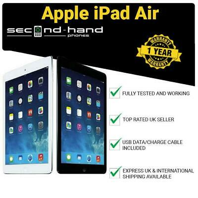 Apple iPad Air (1st Gen) 16/32/64/128GB 9.7in Wi-Fi or Cellular 4G Unlocked
