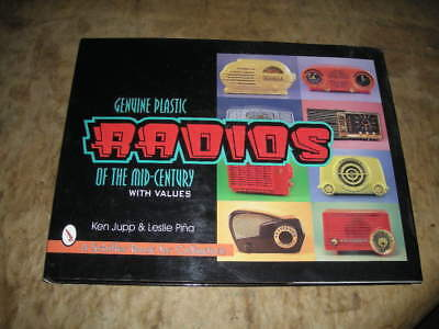 Very Nice Book Titled Radios Of The Mid Century 219 Pages,unused,hard Bound