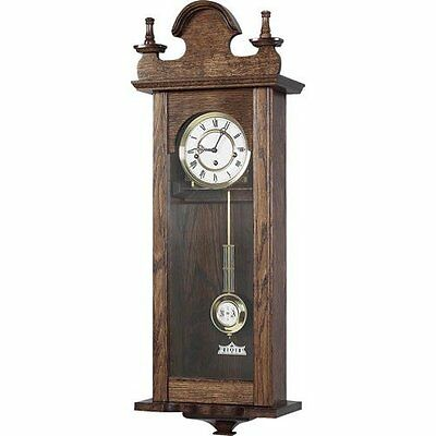 Regulator Clock with Hermle 8 Day Spring Wound Westminster Chime Movement - 142