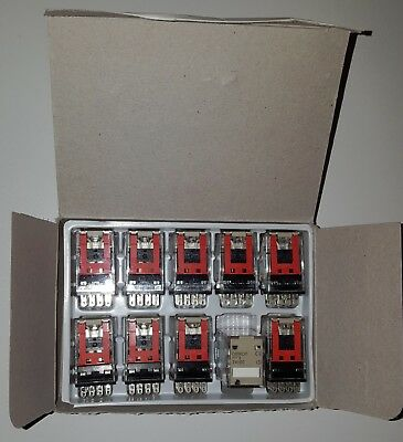 MY4 4PDT 24VDC 14 Pin Relay. 1 pack of 10