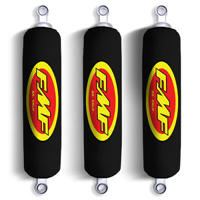NEW Set of 3 Yellow X Can Am Shock Covers Bombardier DS 250 ATV