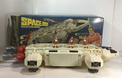 1976 Mattel Space: 1999 Eagle 1 Spaceship Near Complete