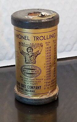 South Bend bait co Fishing Leader Line, Solid Monel Trolling Wire, 30Lb,test