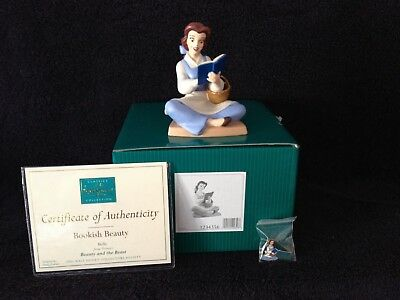 "WDCC Disney 2005 Membership Belle ""Bookish Beauty"" Beauty & the Beast New."