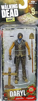 "GRAVEDIGGER DARYL DIXON DIRTY! 5"" /12cm FIGUR THE WALKING DEAD McFARLANE TOYS"