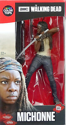 "MICHONNE 6"" /18cm THE WALKING DEAD COLOR TOPS #2 McFARLANE TOYS AMC TV SERIE"