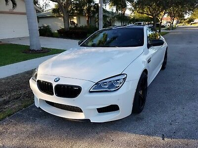 2016 BMW M6 Coupe Competition Edition 1 of 100 Limited Prod 16 F13 M6 9K miles LED SUEDE M PERFORMANCE CARBON CERAMIC best offer CLEAN TITLE