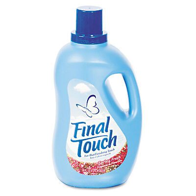 Final Touch Ultra Liquid Fabric Softener 120oz Bottle 58420CT