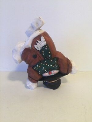 """Whimsical Snowman Coyne & Co Partners-N-Pine """"IN THE MEADOW"""" Many Poses"""