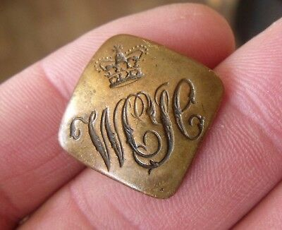 An Unknown Victorian Military Button, Qc,  Jennens London. Wcyc?