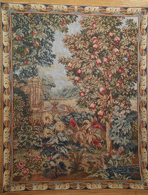 Wandteppich Gobelin Tapestry floral grh