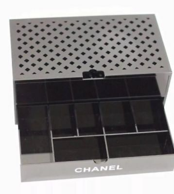 Rare Chanel Makeup Cosmetic Organizer Extra Large Vanity Storage Drawer