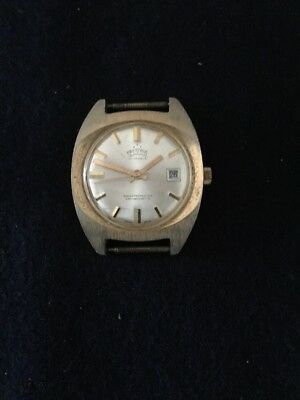 Vintage Swiss Made Prestige 17 Jewel Watch With Date Display