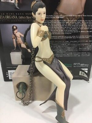 2006 Kotobukiya Star Wars Slave Leia 1/7th Scale Statue Snap Fit Organa With Box