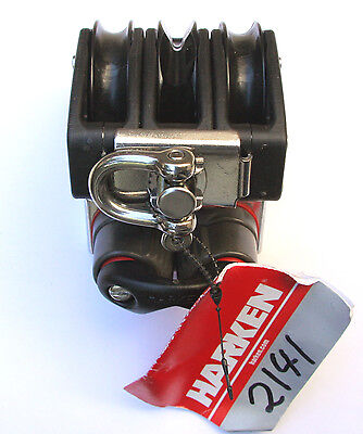 Harken 57 mm Carbo Triple Rachet with Can and Becket -2141