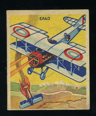 1933 1934 National Chicle Sky Birds #41/144 - Spad