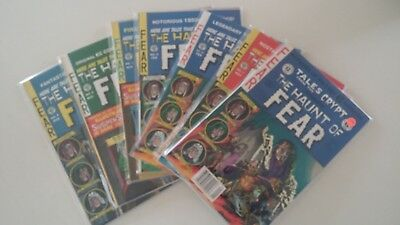 """""""The Haunt of Fear"""" magazines Lot of 6 - 1990's - Excellent Condition"""