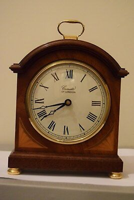 Comitti of London Mantel Clock battery operated