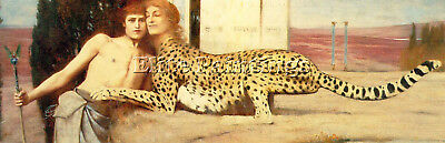 Khnopff Fernand Belgian 1858 1921 3 Artist Painting Reproduction Handmade Oil