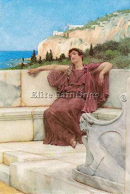 Lawrence Alma Tadema Dolce Far Niente Artist Painting Reproduction Handmade Oil