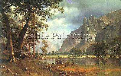 Bierstadt18 Artist Painting Reproduction Handmade Oil Canvas Repro Wall Art Deco