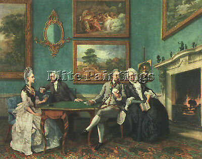 Zoffany Johann Jewish Artist Painting Reproduction Handmade Oil Canvas Repro