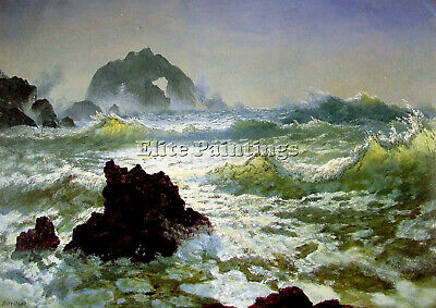Seal Rock California Artist Painting Reproduction Handmade Oil Canvas Repro Deco