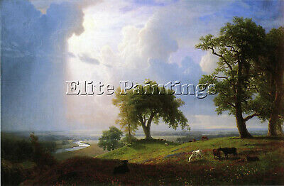 Bierstadt Albert California Spring Artist Painting Oil Canvas Repro Art Deco