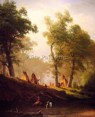 The Wolf River Artist Painting Reproduction Handmade Oil Canva Repro Art Deco