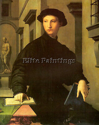 Bronzino15 Artist Painting Reproduction Handmade Oil Canvas Repro Wall Art Deco