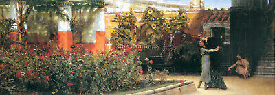 Lawrence Alma Tadema A Hearty Welcome Artist Painting Reproduction Handmade Oil