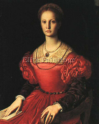 Lucrezia Panciatichi  Artist Painting Reproduction Handmade Oil Canvas Repro