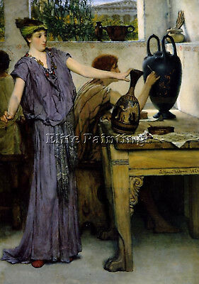 Lawrence Alma Tadema Pottery Painting Artist Painting Reproduction Handmade Oil