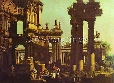 Bellotto10 Artist Painting Reproduction Handmade Oil Canvas Repro Wall Art Deco
