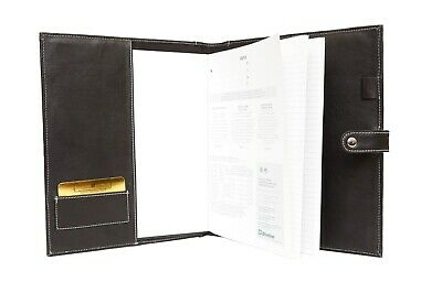 ASHLIN Refillable Large Journal with pen loop and closure P9024-00-01 MSR$99.00