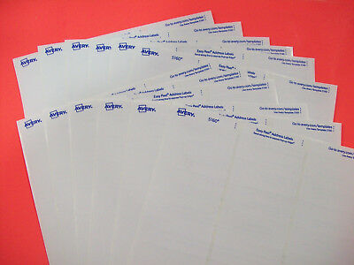 Avery 5160 Easy Peel Mailing Address Labels Laser 1 x 2 5/8 White, 360 Labels