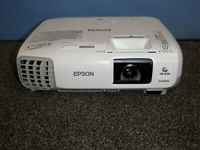 Epson PowerLite 97H Projector Model H688A 140 Hours